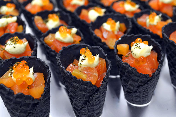 Bay fusion food design gourmet catering in hervey bay for Canape caterers